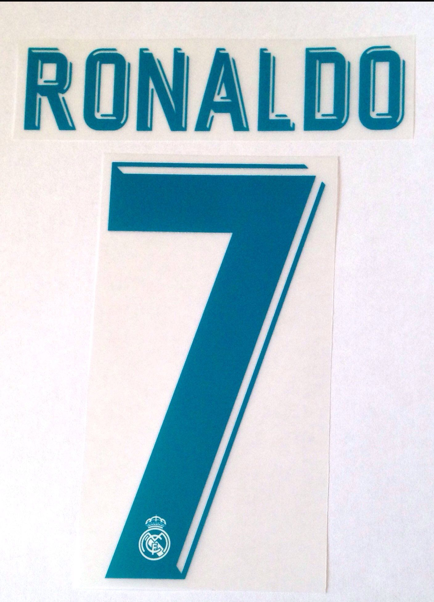 KIDS 2017 18 Real Madrid RONALDO 7 Home UCL Shirt OFFICIAL